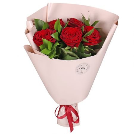 Bouquet Spring promo! 5 roses