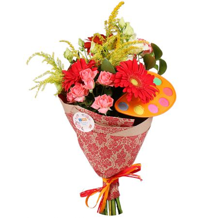 Bouquet Watercolor song