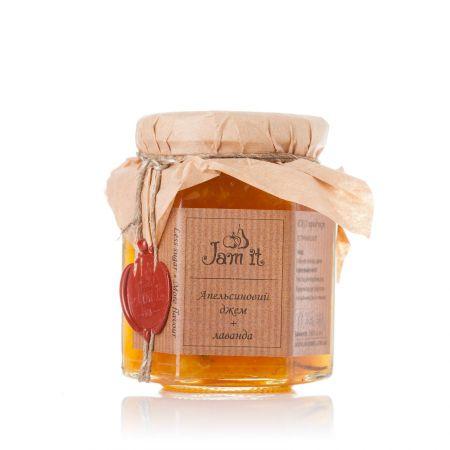 Product Orange jam with lavender
