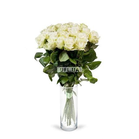 Bouquet White rose 50cm