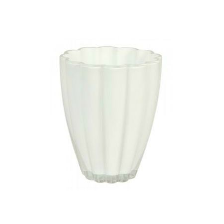 White planter for orchids with delivery