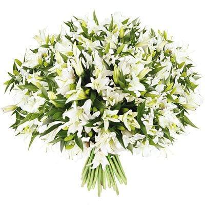 Bouquet White lilies