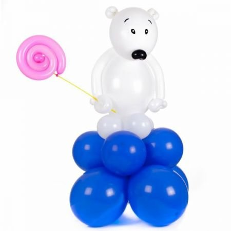 Product White Bear of the balls