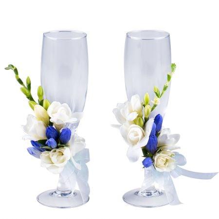 "Product Wedding glasses \""Gentian\"""
