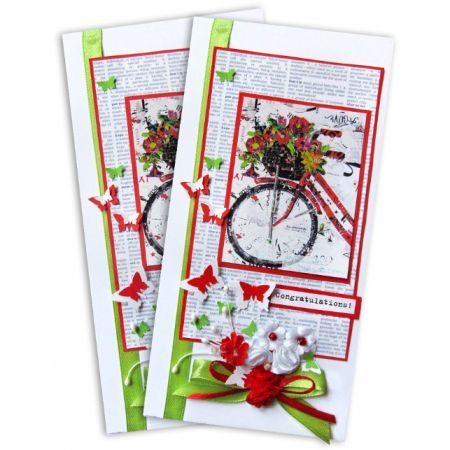 Order beautiful card with bouquet of flowers. Delivery to any corner of the world