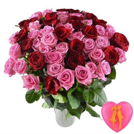 Bouquet Big rose bouquet + soap for free
