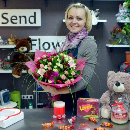 Bouquet Florist designed bouquet or St.Valentine\'s Day