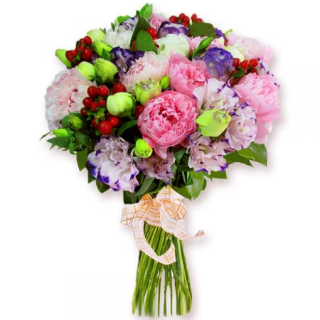 Bouquet Bouquet of peonies