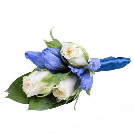 """Bouquet Boutonniere \""""Gentian\"""""""
