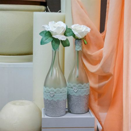 Product Bottles with decor
