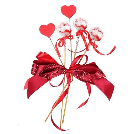 Product Add-on to bouquet on Valentine's Day