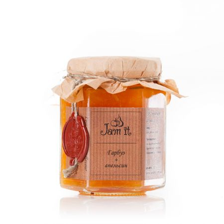 Product Pumpkin and orange jam