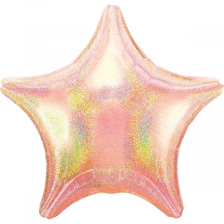 Product Foil star light pink