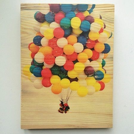 Product Photo on wood  А5 (colour,140х198mm)