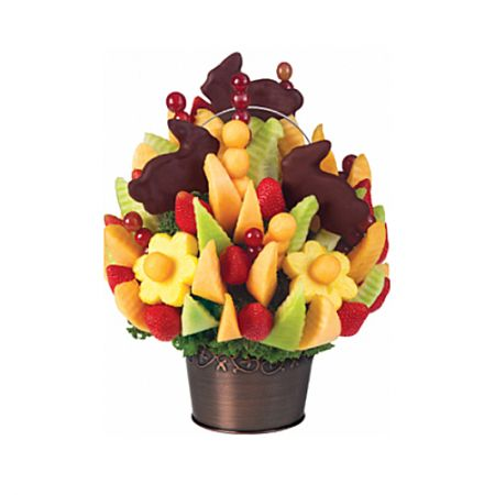 Product Fruit bouquet Easter bunnies