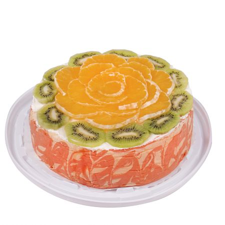 Order sponge cake with fruit in Kiev