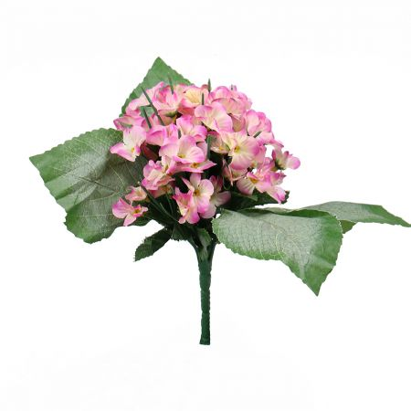Artificial hydrangea pink   order with delivery UFL