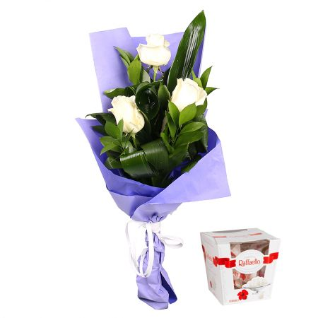 Bouquet Impulse + box of chocolates (wholesale)