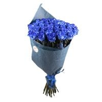 Bouquet Из 51 синей розы