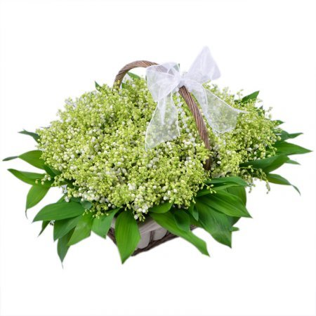 Bouquet With lilies of the valley
