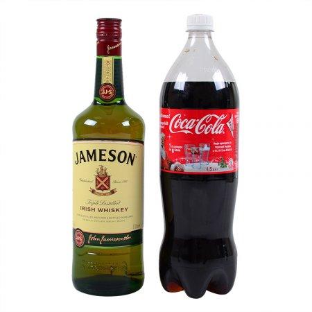 Product Wkisky Jameson 1L + Coca-Cola
