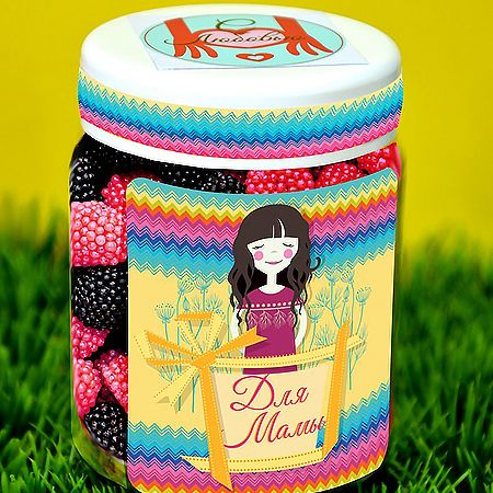 Order delicious jelly sweets in the original packing for mother. Fast delivery!