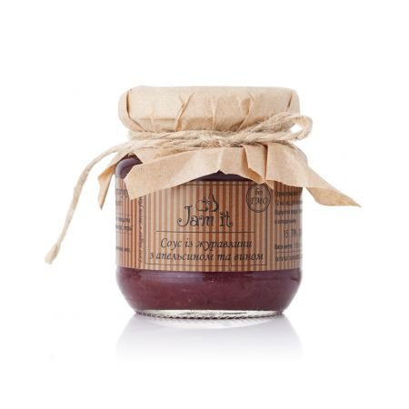 Product Cranberry sauce with orange and wine