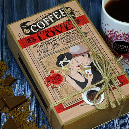 Order delcious coffee with chocolate bars in the internet-shop UFL. Fast delivery!