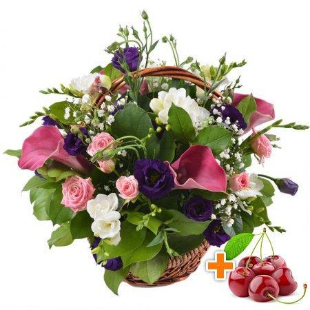 Bouquet Compliment + cherries