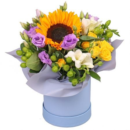 Bouquet Compliment in a box