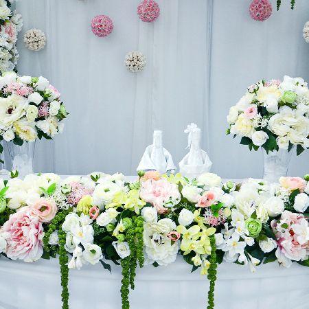 Bouquet Table arrangement (4)