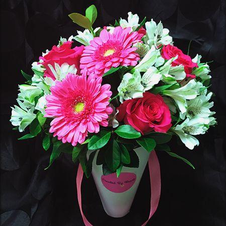 Bouquet Flower arrangement «Pastel»