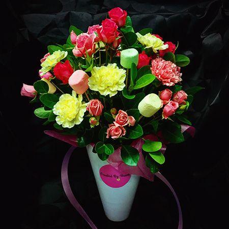 Bouquet Flower arrangement «Sweet»