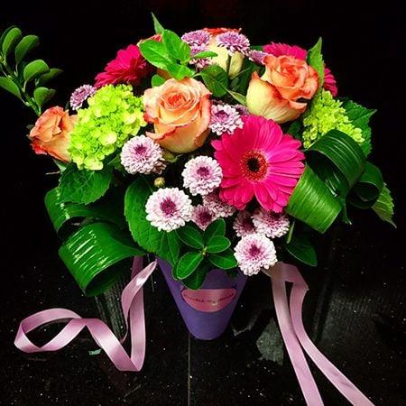 Bouquet Flower arrangement «Brightness»