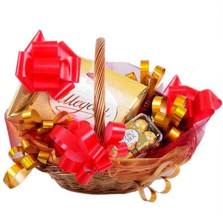 Product Gift Basket - Sweet Christmas
