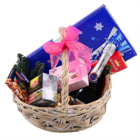 "Product Basket ""Happy New Year!\"""