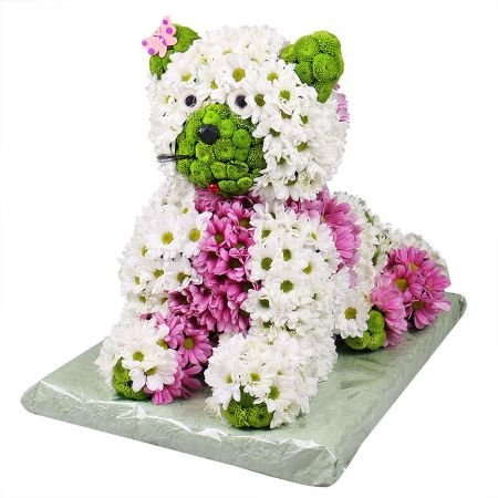 Bouquet Flower Kitty