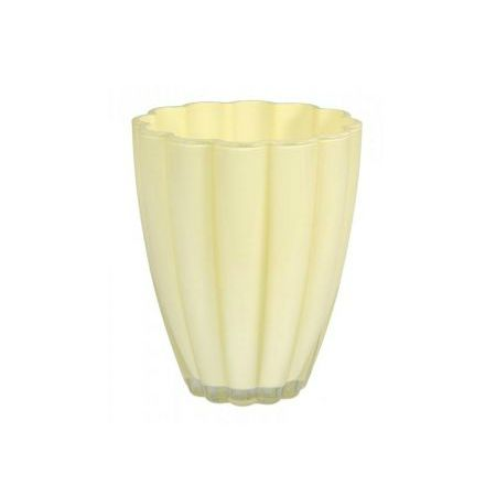 Cream colored planter for orchids with delivery