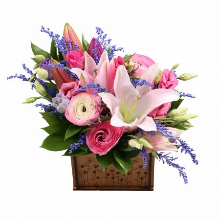 Order a beautiful bouquet of flowers with delivery to any part of the country