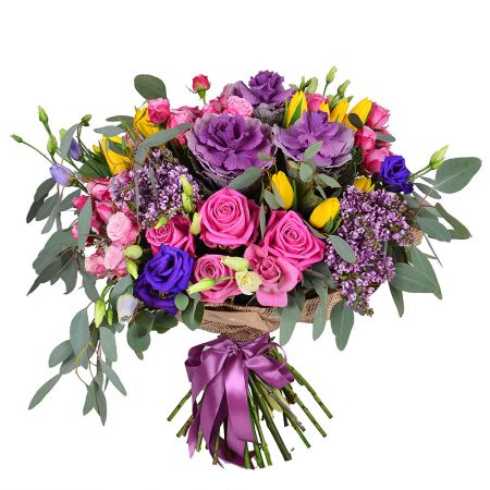 Bouquet Purple charm
