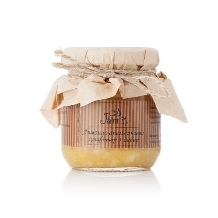 Product Lemon and orange confiture with ginger