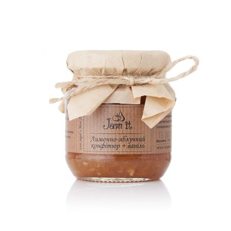 Product Lemon and apple confiture with vanilla