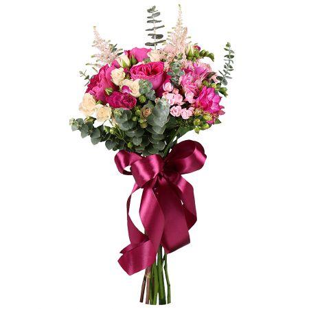 Bouquet Raspberry accent
