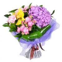 Buy pink and purple bouquet