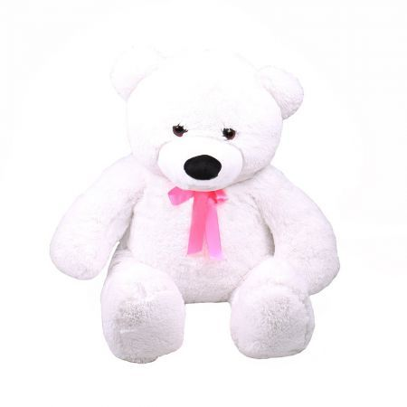 Teddy bear white 70 cm | order with delivry on our site