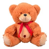 Red teddy-bear 45 cm