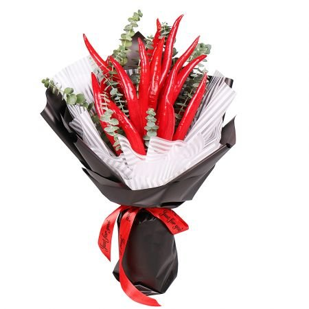 Product Bouquet of red peppers