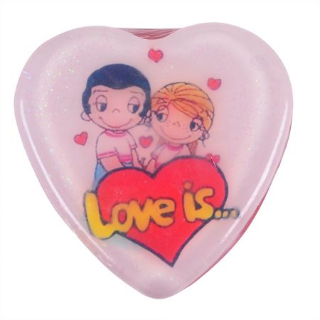 Product Soap heart Love is...