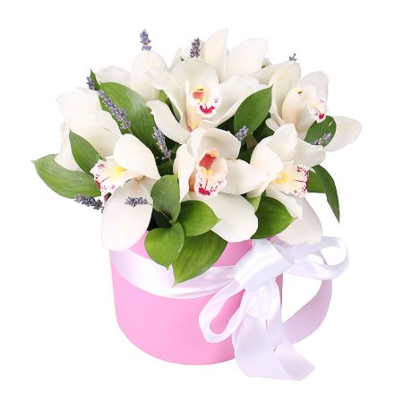 Bouquet Tenderness of orchids
