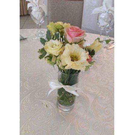 Bouquet Flowers in a glass